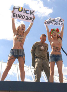 Femen in action