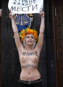 Femen - fuck and burn