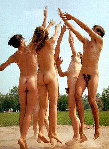 Nudists fkk volleyball