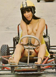 Nudists carting