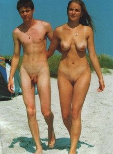 Nude beach nudists company