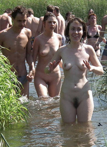 Pustye Holmy nudists event (part 4)