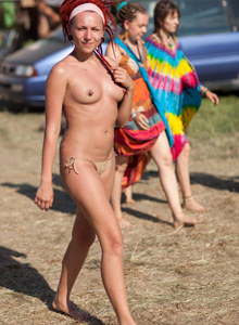 Pustye Holmy nudists event (part 3)