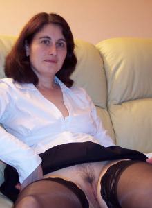 Olga busty cock-loving mature gf