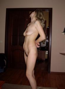 Blonde whore gf in motley bikini beach photos