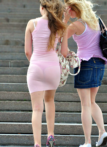 Candid see-through girls dresses