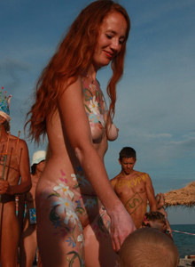 Black see nudist festival (part 4)