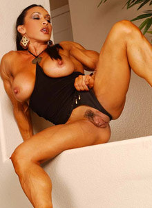 Denise Masino is athletic mature with big clit