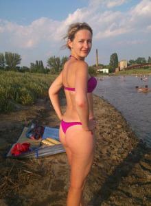 Gfs shot outside in bikini