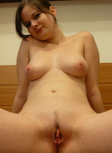Young sexy brunette cock loving girlfriend